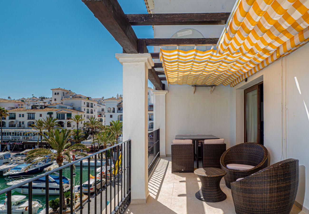 Zapholiday  –  2001  -  appartement Puerto de la Duquesa  , Costa del Sol  – terrace