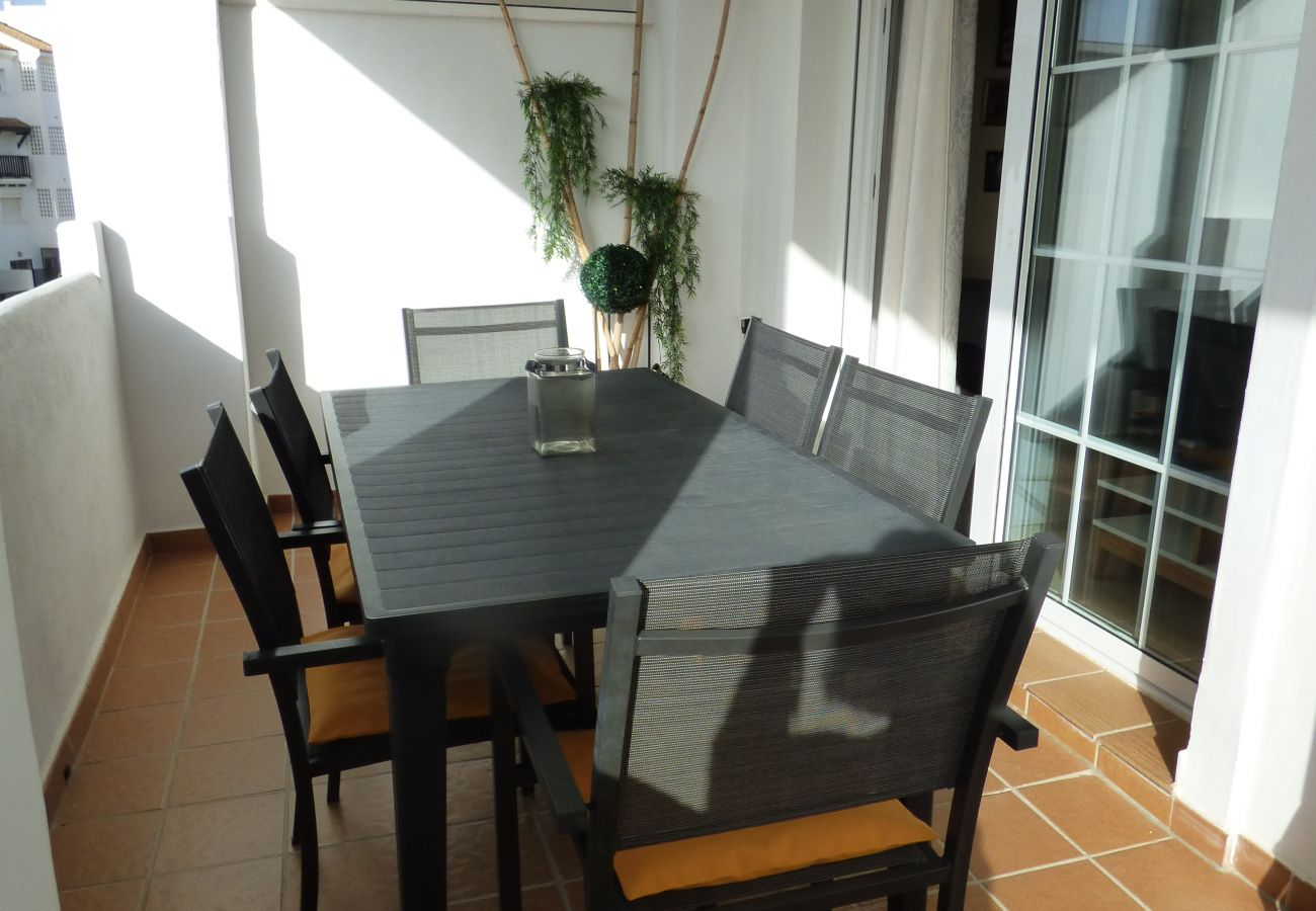 Zapholiday - 2189 - location appartement Sabinillas - terrasse