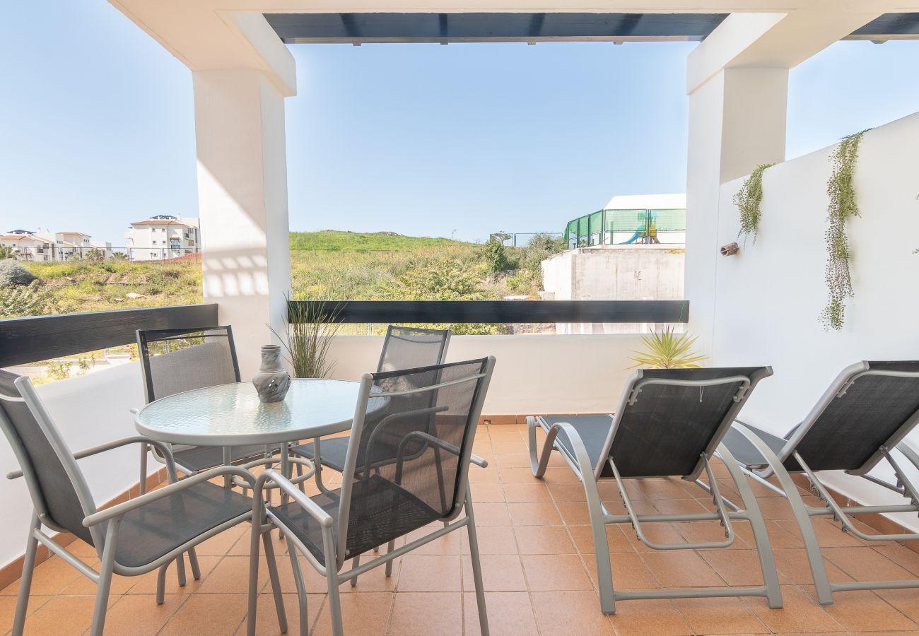 Zapholiday – 2197 – Location appartement Manilva - terrasse
