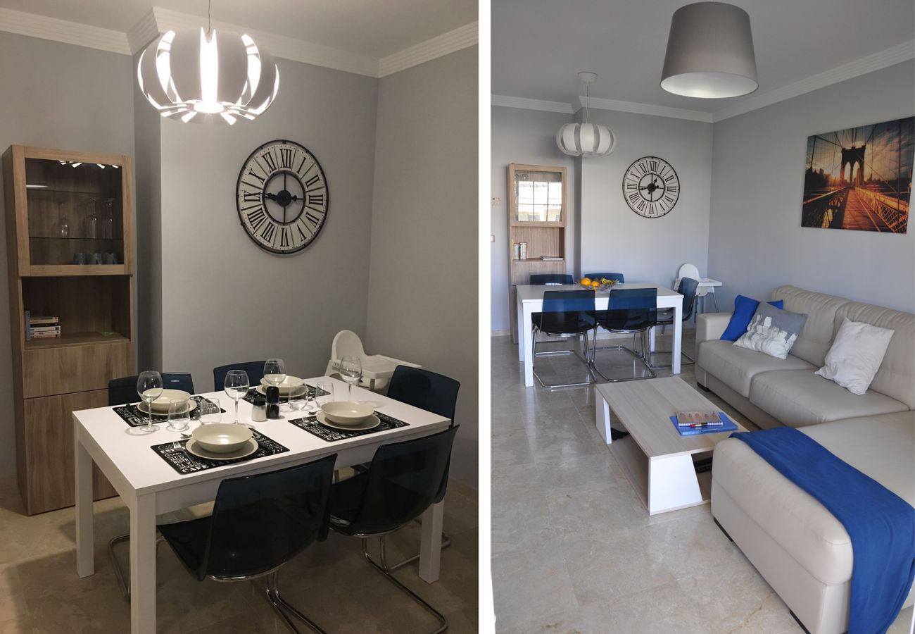 Zapholiday – 2201 – Location appartement Manilva - salon