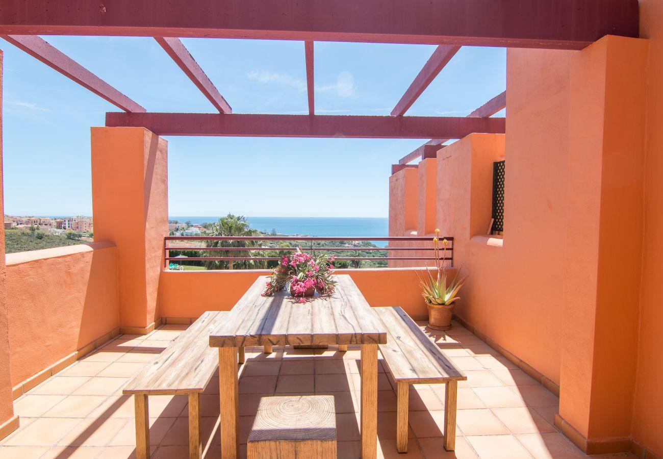 Zapholiday – 2205 – Location appartement Manilva - vue mer