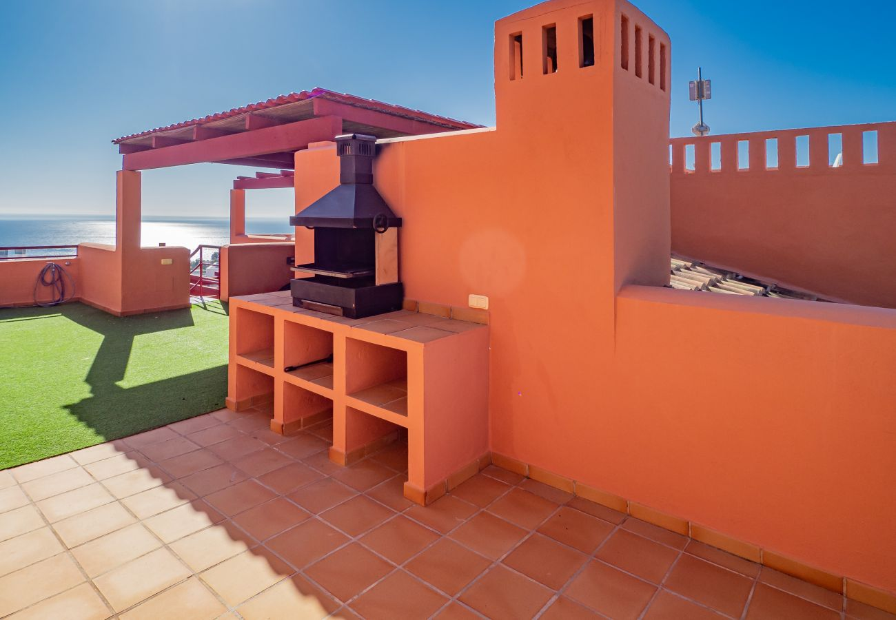 Zapholiday – 2205 – Location appartement Manilva - barbecue
