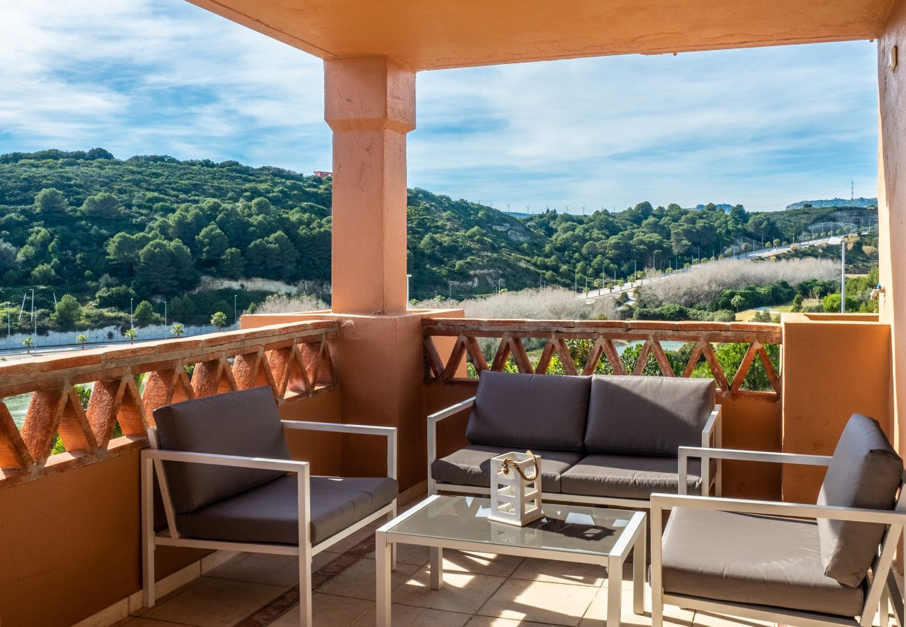 Zapholiday - 2225 - location appartement Casares - terrasse