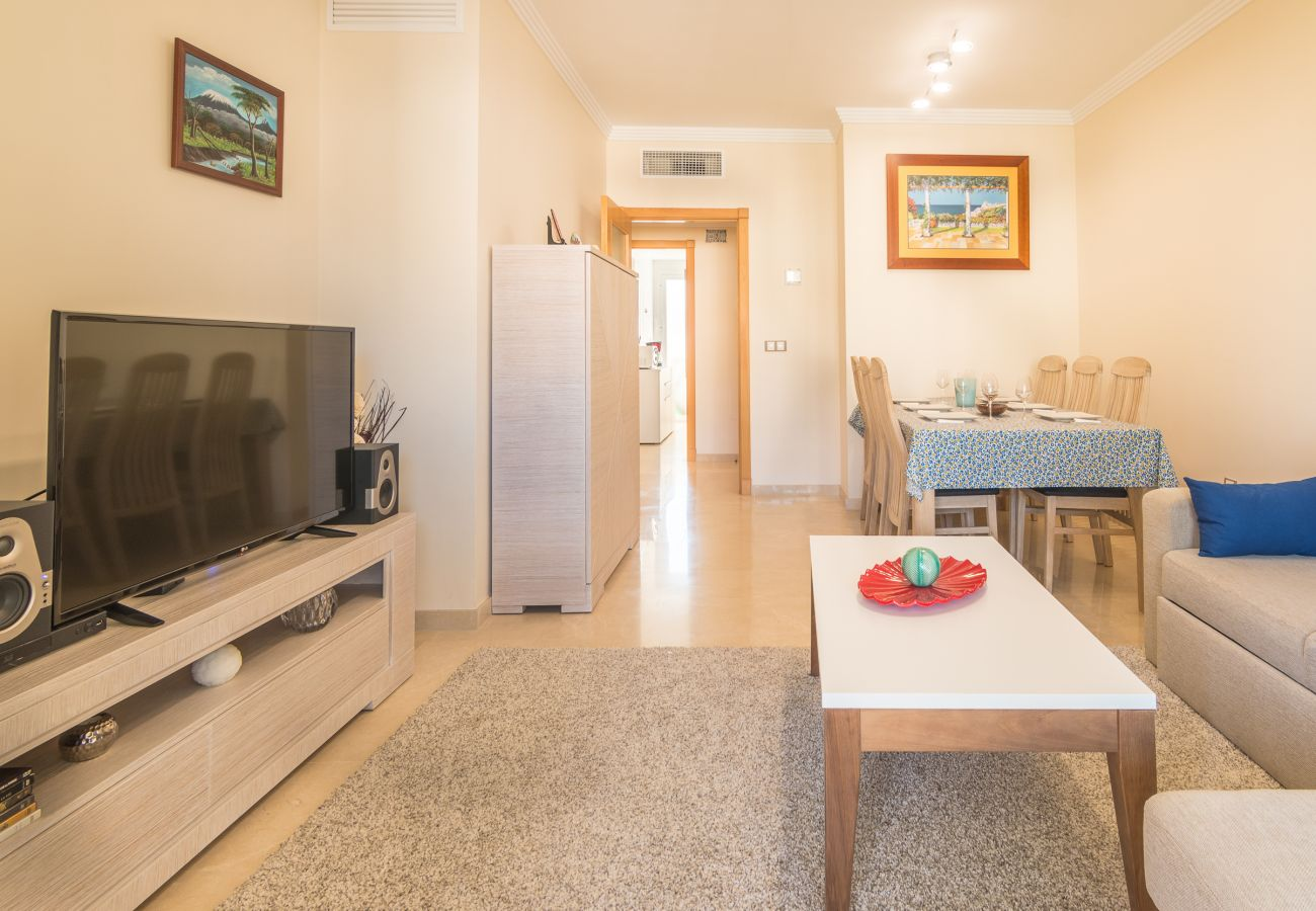 Zapholiday – 2222 – Location appartement Manilva - salon