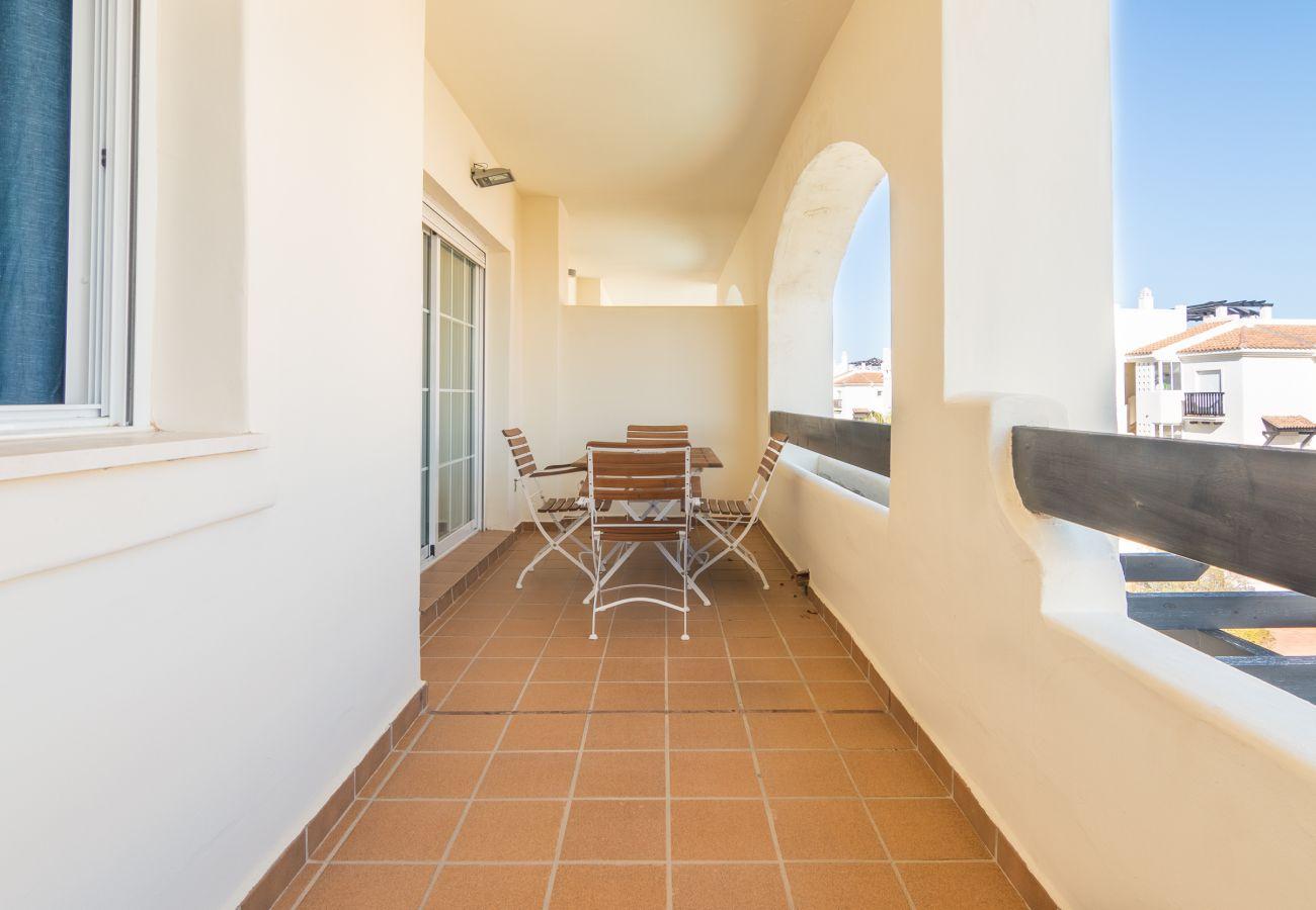 Zapholiday – 2222 – Location appartement Manilva - terrasse