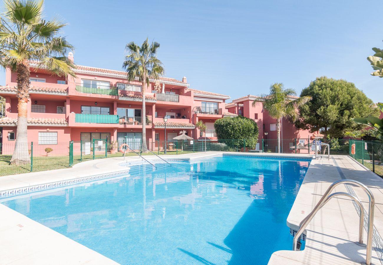 Zapholiday – 2228 – Location appartement Manilva – piscine