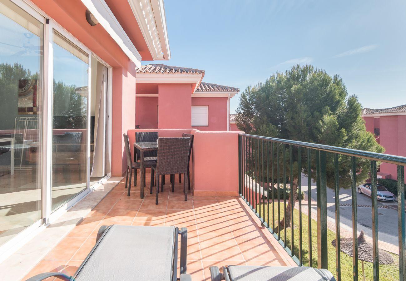 Zapholiday – 2228 – Location appartement Manilva – terrasse