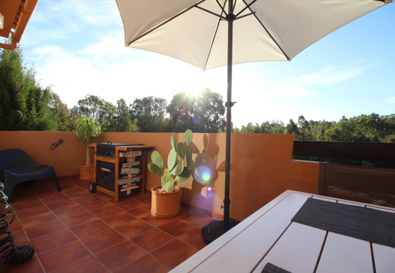 Zapholiday - 2231 - location appartement Casares - terrasse barbecue