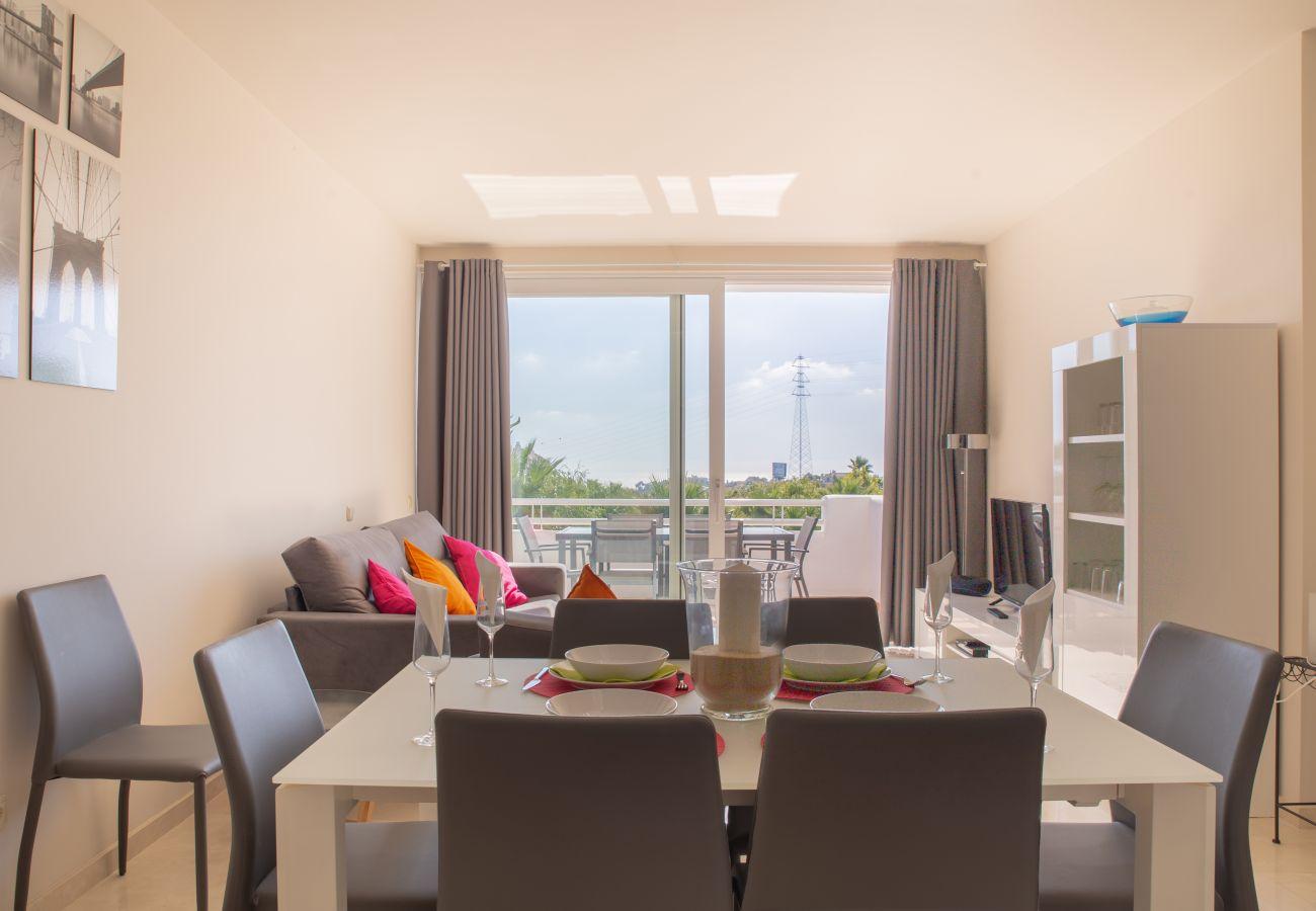 Zapholiday - 2237 - Appartement de vacances Estepona - salon