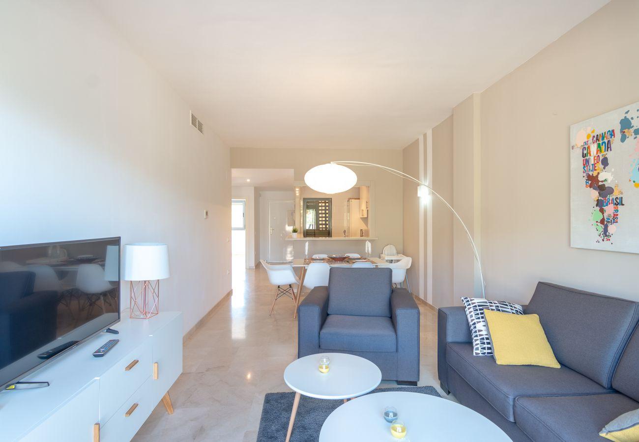 Zapholiday – 2244 – Location appartement Manilva – salon