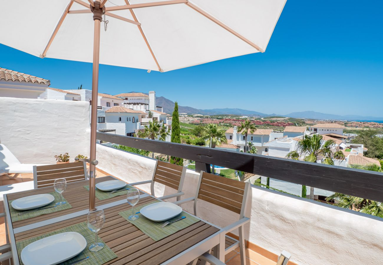 Zapholiday - 2246 - location appartement Casares - terrasse