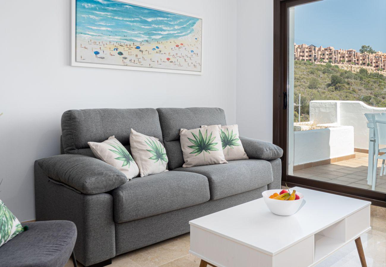 Zapholiday – 2290 - location appartement la Duquesa  , Costa del Sol – salon