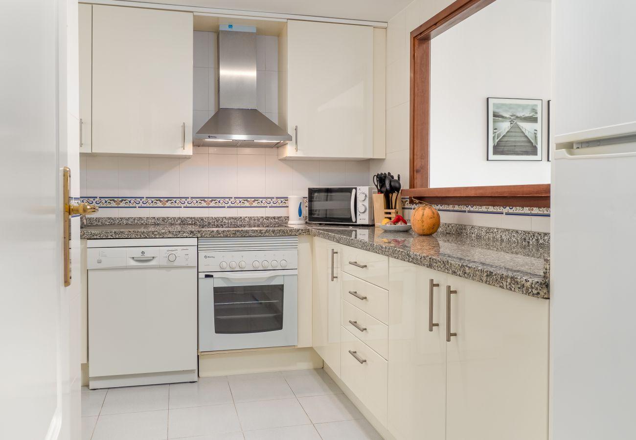 Zapholiday – 2290 - location appartement la Duquesa  , Costa del Sol – cuisine
