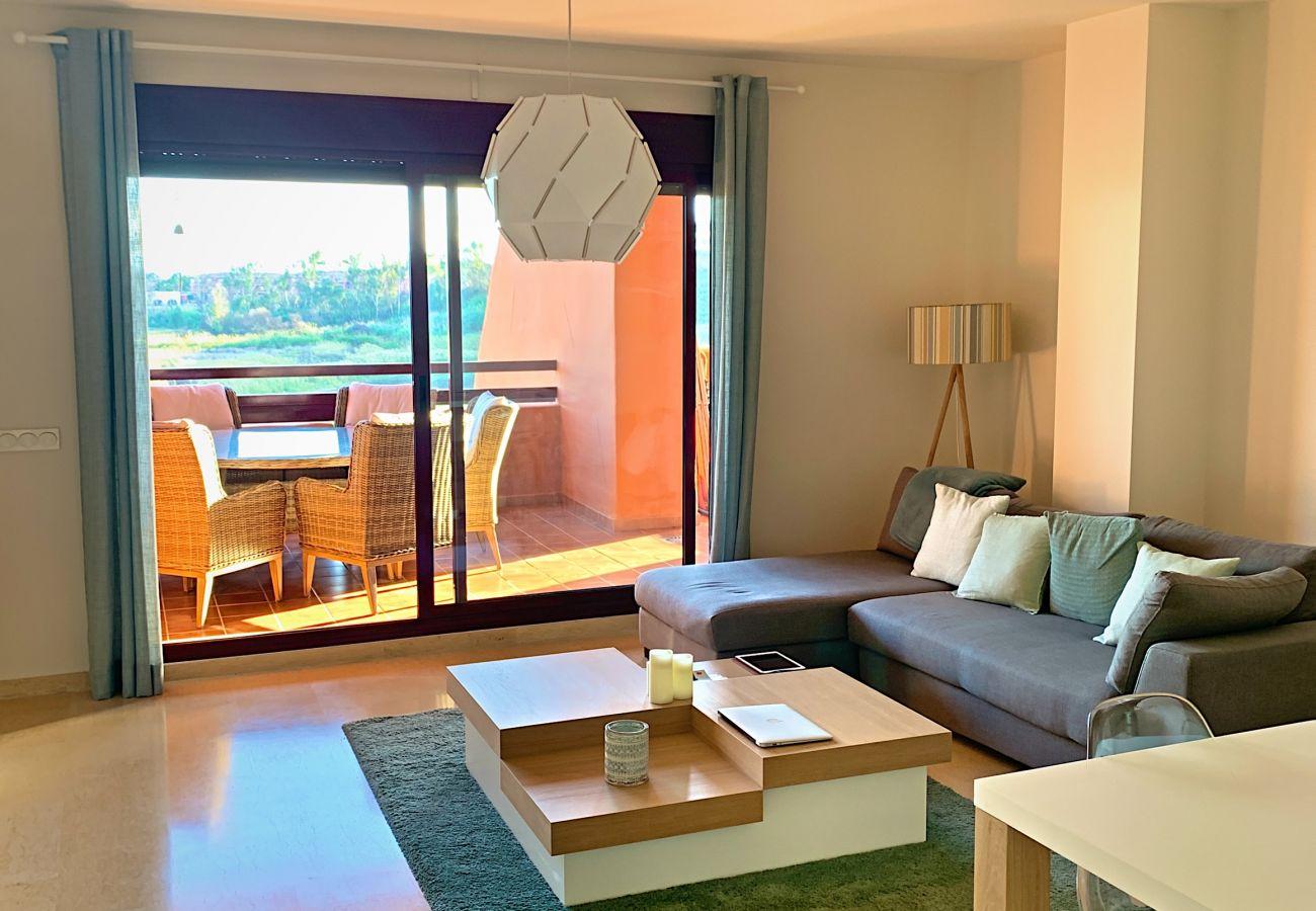 ZapHoliday - 2303 – location appartement à Manilva, Costa del Sol - salon